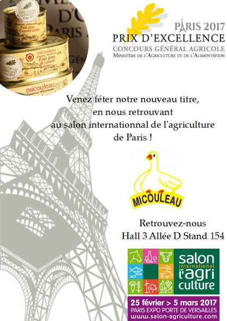 salon de l'agriculture paris 2017